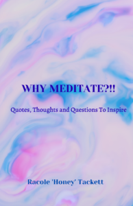 Front Cover - Why Meditate